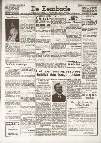 De Eembode 1937-08-31