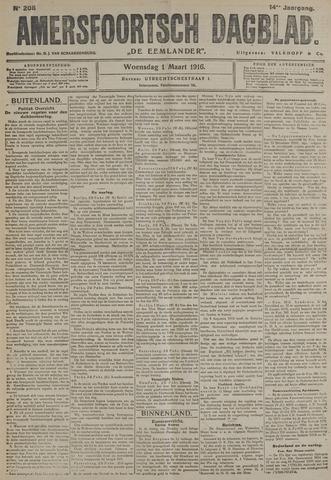 Amersfoortsch Dagblad / De Eemlander 1916-03-01