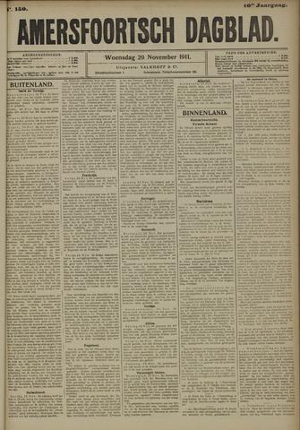 Amersfoortsch Dagblad 1911-11-29