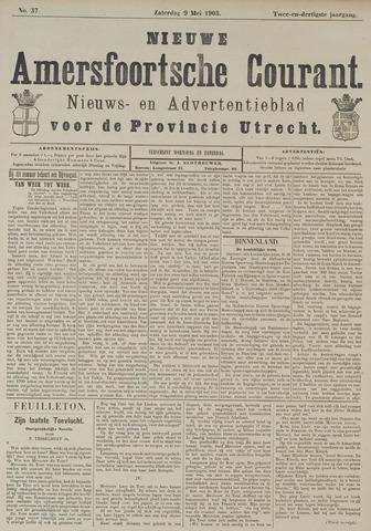 Nieuwe Amersfoortsche Courant 1903-05-09