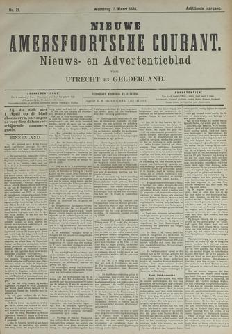 Nieuwe Amersfoortsche Courant 1889-03-13