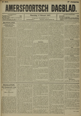 Amersfoortsch Dagblad 1907-02-04