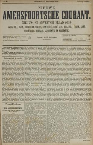Nieuwe Amersfoortsche Courant 1884-08-20