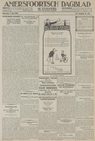 Amersfoortsch Dagblad / De Eemlander 1929-04-17