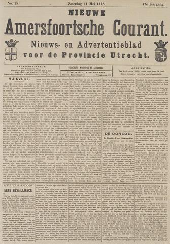 Nieuwe Amersfoortsche Courant 1918-05-11