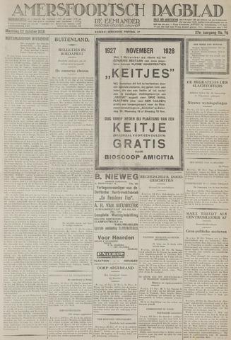 Amersfoortsch Dagblad / De Eemlander 1928-10-22
