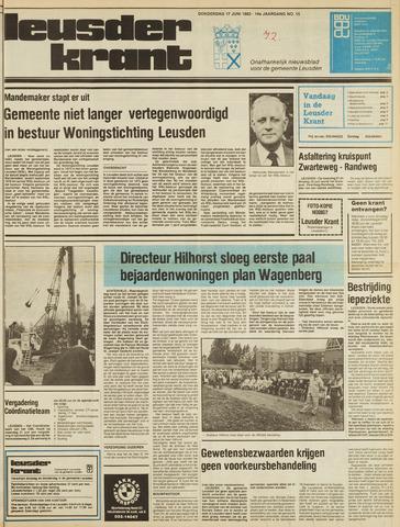 Leusder Krant 1982-06-17