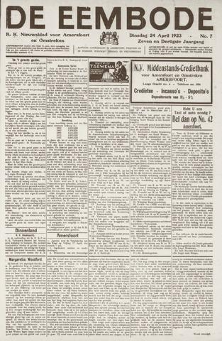 De Eembode 1923-04-24