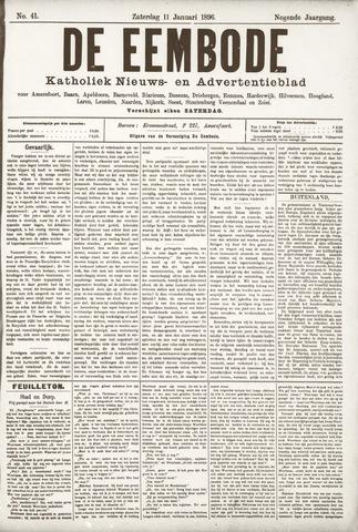 De Eembode 1896-01-11