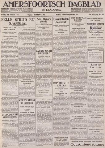 Amersfoortsch Dagblad / De Eemlander 1937-10-19