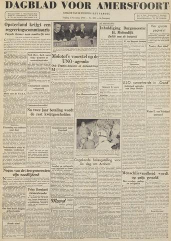 Dagblad voor Amersfoort 1946-11-01