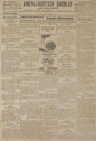 Amersfoortsch Dagblad / De Eemlander 1926-07-01