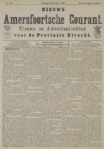 Nieuwe Amersfoortsche Courant 1907-12-24