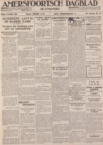 Amersfoortsch Dagblad / De Eemlander 1936-10-16