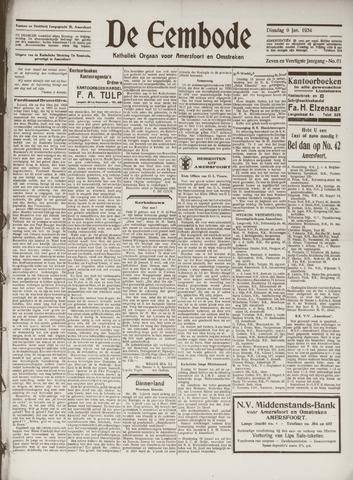 De Eembode 1934-01-09