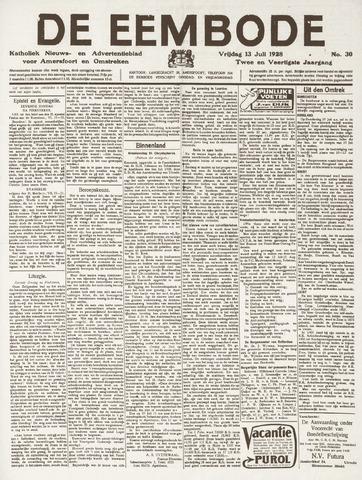 De Eembode 1928-07-13
