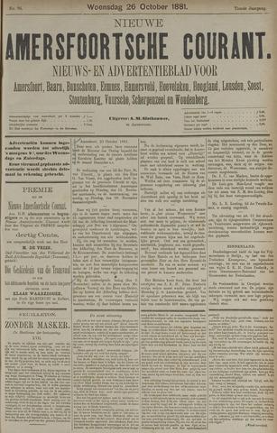 Nieuwe Amersfoortsche Courant 1881-10-26