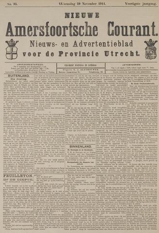 Nieuwe Amersfoortsche Courant 1911-11-29