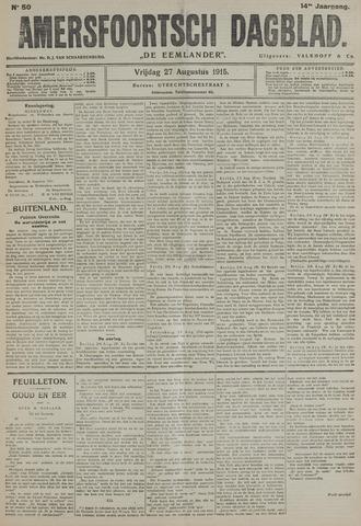 Amersfoortsch Dagblad / De Eemlander 1915-08-27