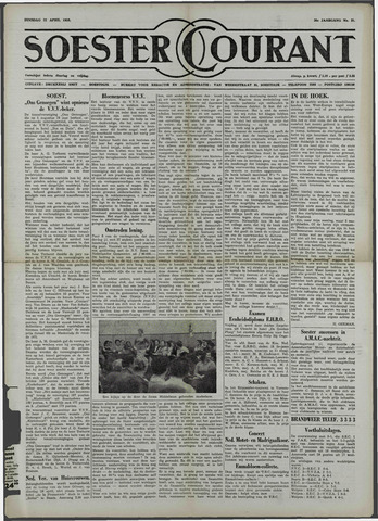 Soester Courant 1958-04-22