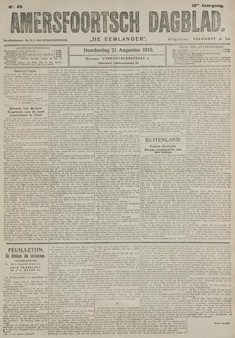 Amersfoortsch Dagblad / De Eemlander 1913-08-21