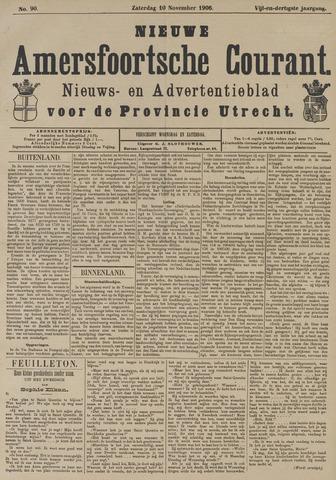 Nieuwe Amersfoortsche Courant 1906-11-10