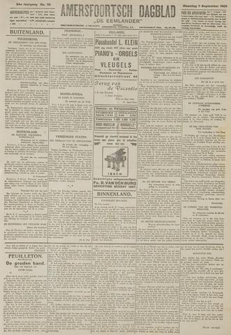Amersfoortsch Dagblad / De Eemlander 1925-09-07