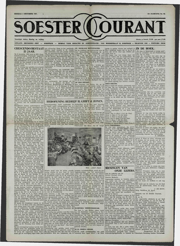 Soester Courant 1957-12-03