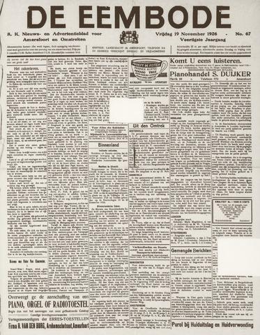 De Eembode 1926-11-19