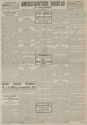 Amersfoortsch Dagblad / De Eemlander 1922-09-12