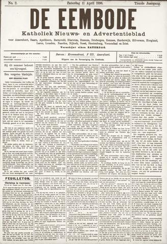 De Eembode 1896-04-11