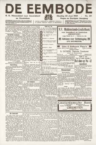 De Eembode 1925-06-23