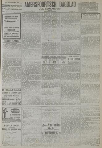 Amersfoortsch Dagblad / De Eemlander 1921-04-27