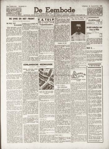 De Eembode 1940-08-16