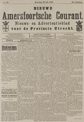 Nieuwe Amersfoortsche Courant 1912-07-20