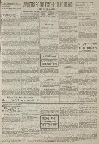 Amersfoortsch Dagblad / De Eemlander 1922-11-21