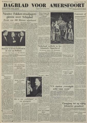Dagblad voor Amersfoort 1950-10-17