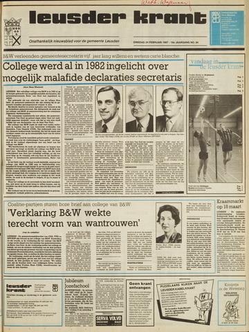 Leusder Krant 1987-02-24