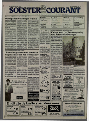 Soester Courant 2000-05-31