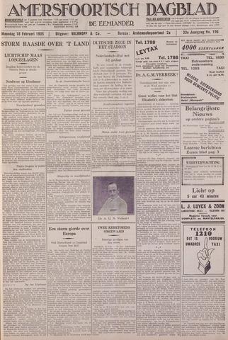 Amersfoortsch Dagblad / De Eemlander 1935-02-18