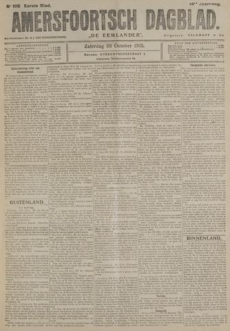 Amersfoortsch Dagblad / De Eemlander 1915-10-30
