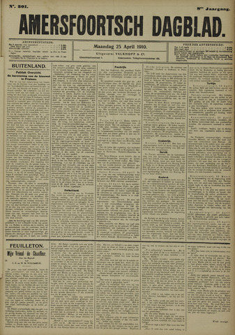 Amersfoortsch Dagblad 1910-04-25