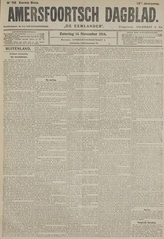Amersfoortsch Dagblad / De Eemlander 1914-11-14