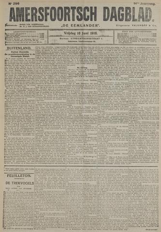 Amersfoortsch Dagblad / De Eemlander 1916-06-16