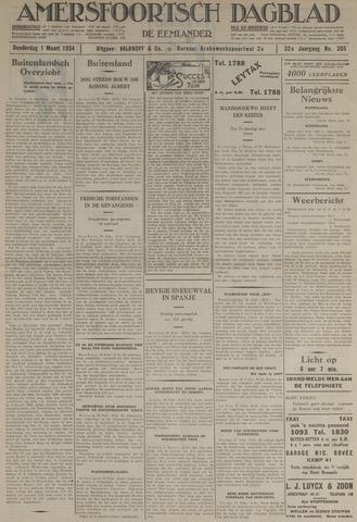 Amersfoortsch Dagblad / De Eemlander 1934-03-01