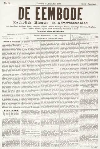 De Eembode 1890-08-09