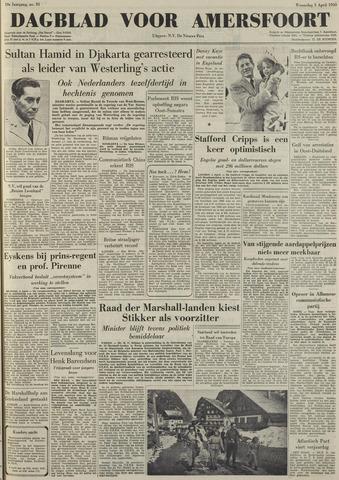 Dagblad voor Amersfoort 1950-04-05