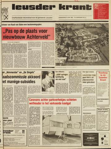 Leusder Krant 1985-06-06