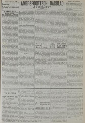 Amersfoortsch Dagblad / De Eemlander 1921-04-22