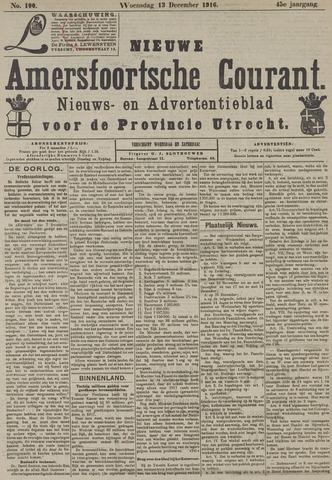 Nieuwe Amersfoortsche Courant 1916-12-13
